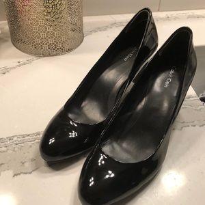 Calvin Klein patent heels
